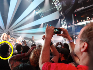 Man Forced To Watch Concert With His Own Eyes