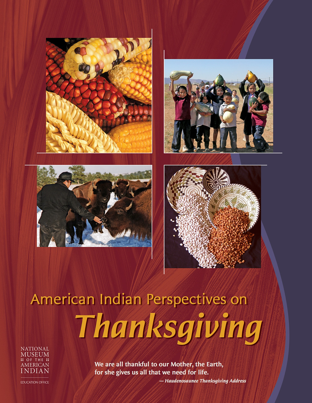 American Indian Perspectives on Thanksgiving poster page 1