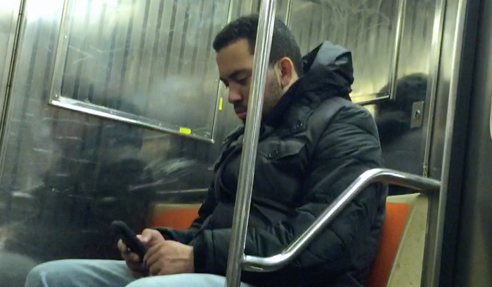 Rude dude disturbs commuters by blaring loud news program at 5am on 1 train in NYC
