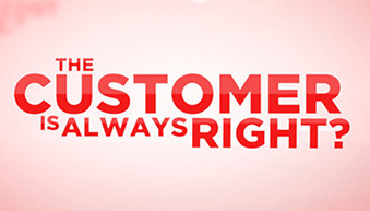 is the customer always right graphic