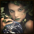 Beautiful fairy woman dressed in ivy, Nature Etiquette Poll Category