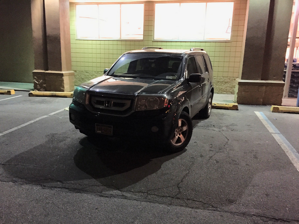 Driver arrogantly pakrs car in 2 parking spots #2