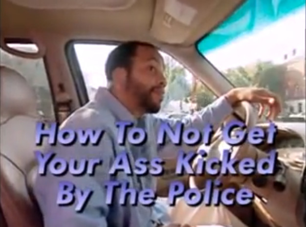 Chris Rock Show - How not to get your ass kicked by the police!