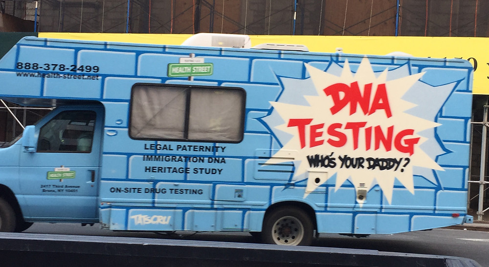 Who's your daddy? DNA Testing Truck n NYC #2