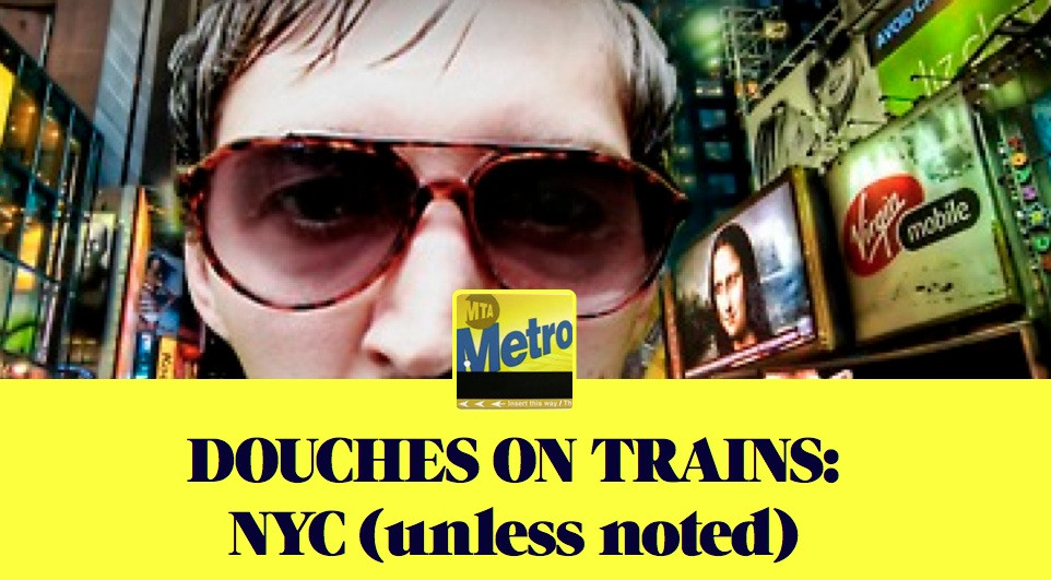 Douches On Trains in NYC Header Image