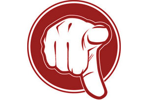 illustration of hand pointing the finger at you