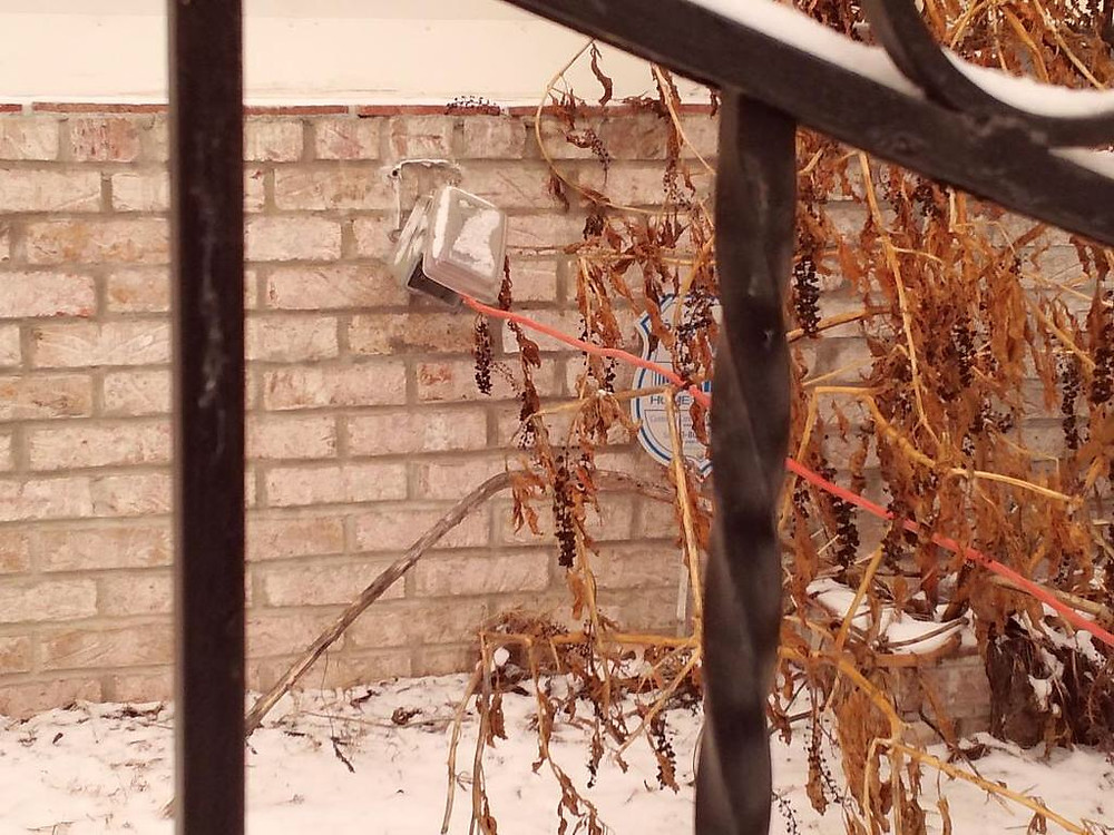Picture of neighbor Stealing electricity from neaghbors house for sale 1