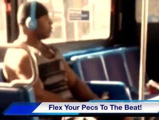 Flex Your Pecs To The Beat! (a.k.a. Titty Twerk, Pec Pop, or Nip Syncing)