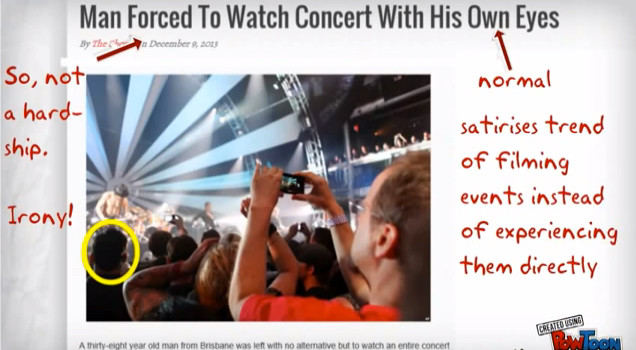 The Shovel: Man Forced To Watch Concert With His Own Eyes