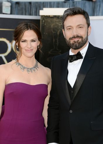 Ben Affleck and Jennifer Garner at the oscars