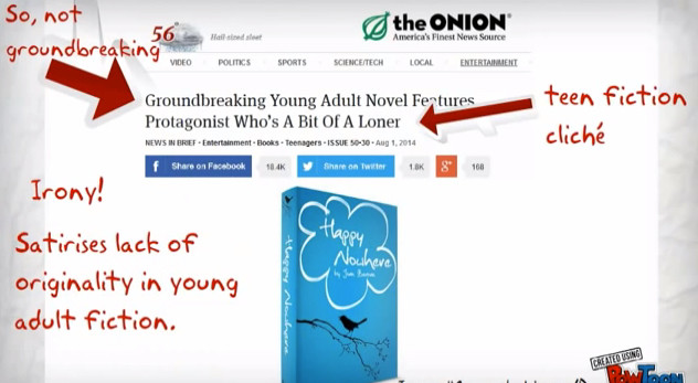 The Onion: Groundbreaking Young Adult Novel Features Protagonist Who's A Bit Of A Loner
