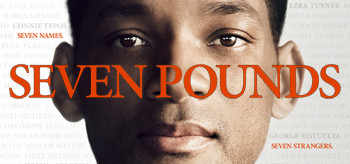 Seven Pounds film DVD cover with Will Smith