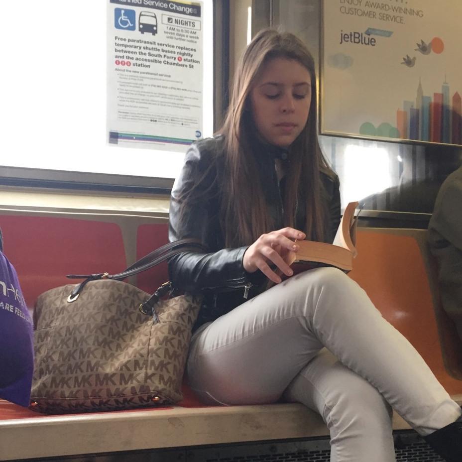 A bag snob womanspreading her MK purse #2