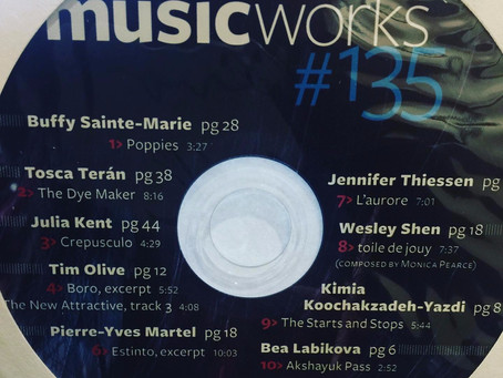 Music Works Magazine feature