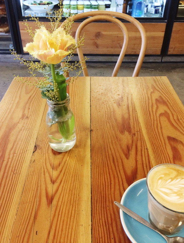 Cafe musings - Staying warm