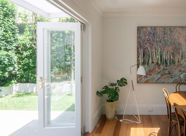 ssd studio_Double House_Living_Courtyard