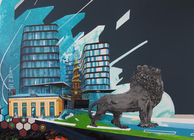 Inner city Lion