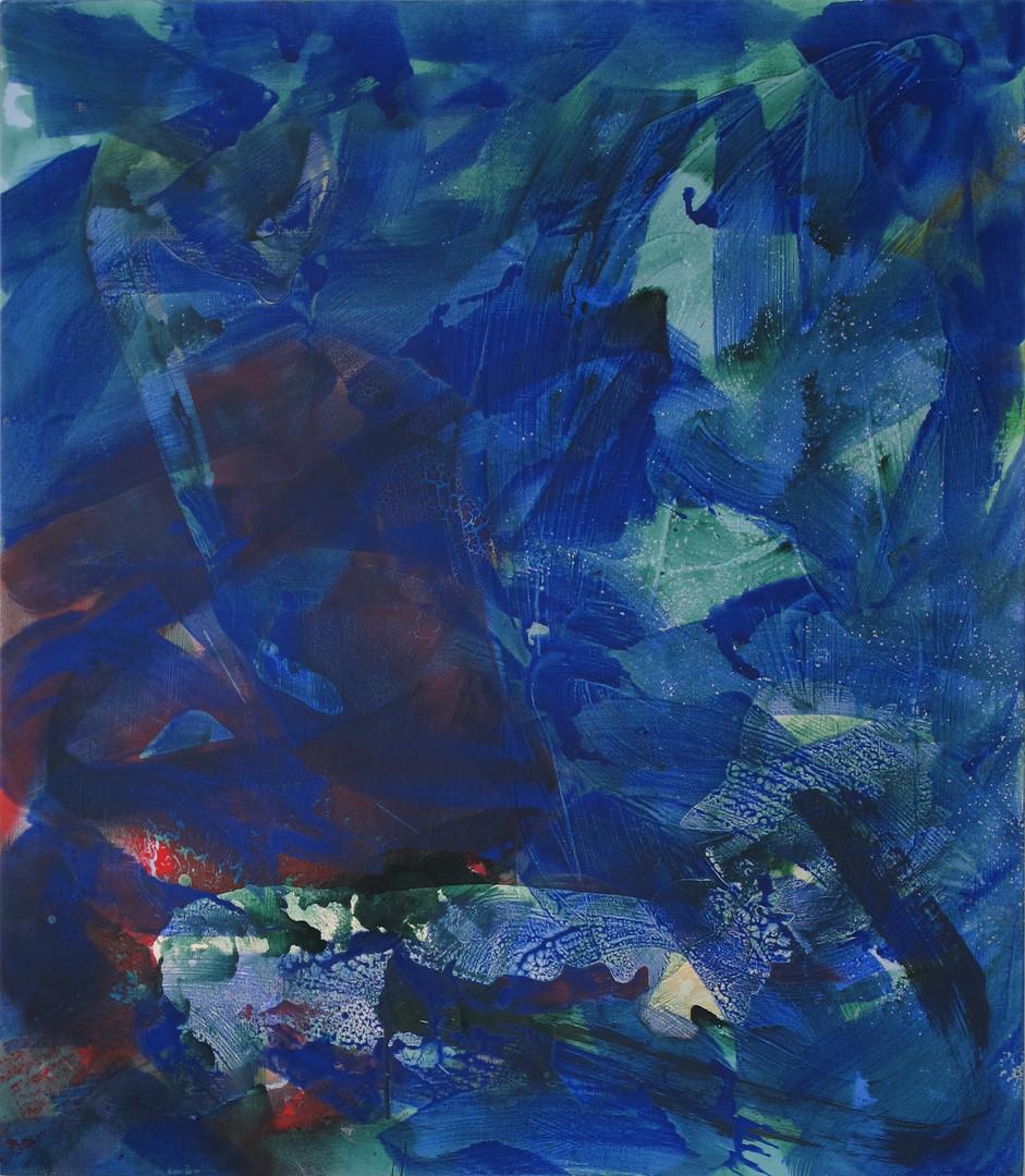Blue strokes