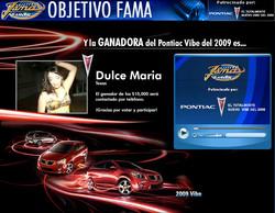 Objectivo Fama Online Winner | 2008