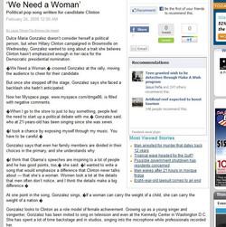 """We Need A Woman"" | Feb 2008"