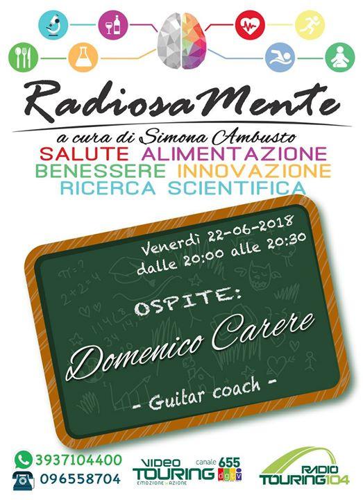 Ospite di RadiosaMente con Simona Ambust