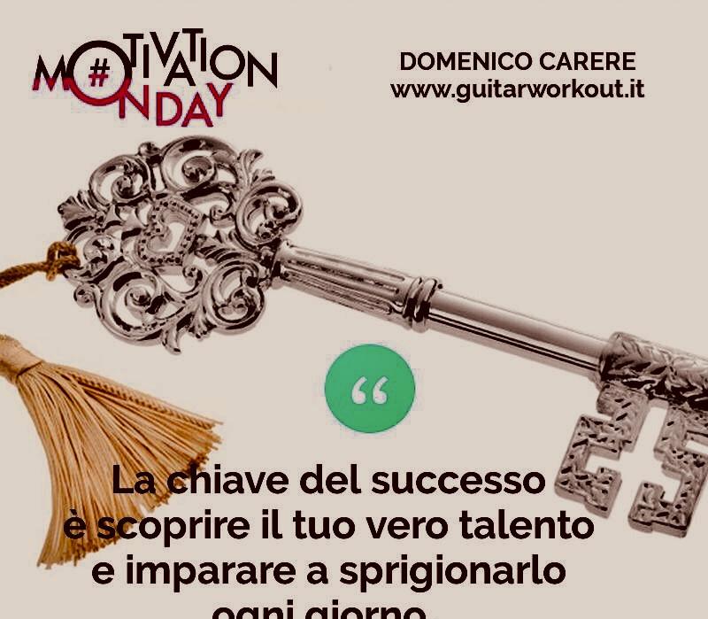 la chiave del successo ...