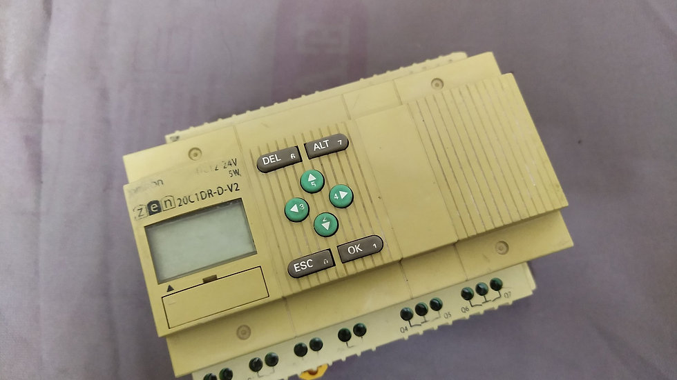 OMRON ZEN-20C1DR-D-V2 CPU UNIT ZEN20C1DRDV2