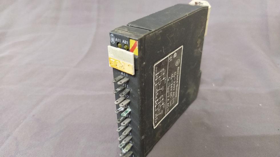 KLOCKNER MOELLER ETS V1-2 RELAY OUTPUT ETSV12 220 VAC 24 VDC