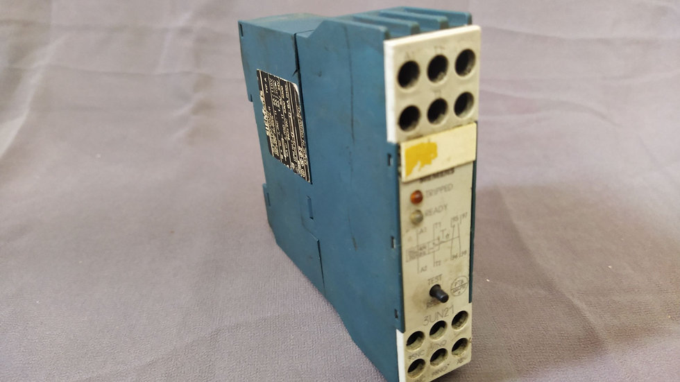 SIEMENS 3UN2110-0AN7 PTC THERMISTOR TRIPPING UNIT