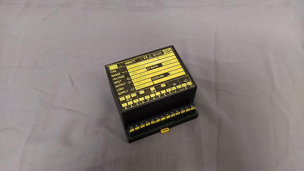 DEIF TAP-210DG-3 INWATT TRANSDUCER 100064185.10 440 VAC RANGE 0-750-1500 kW