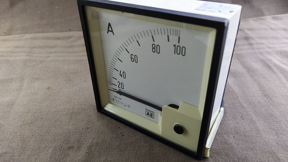 AE 0-100 AMPERE METER 100/5A