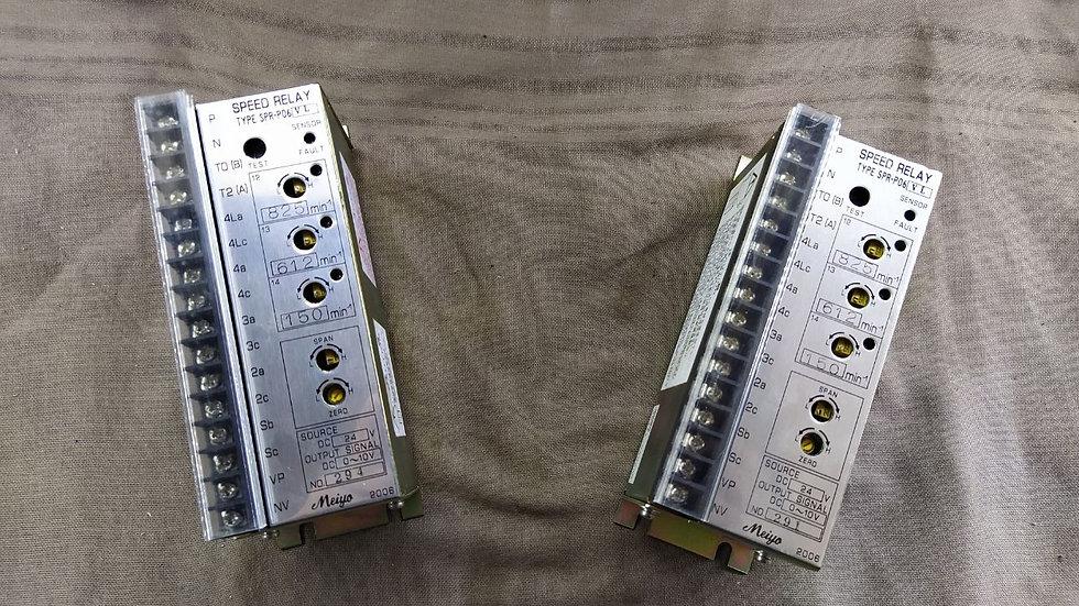 MEIYO SPR-P06-VL SPEED RELAY SPRP06VL 24VDC