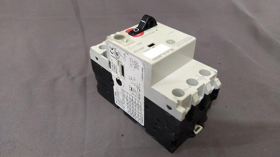GE GENERAL ELECTRIC GPS1BSAM MANUAL MOTOR STARTER 11-16A 3P 600V