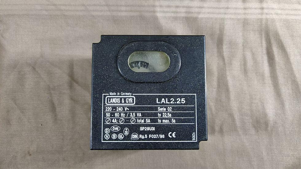 LANDIS & GYR LAL2.25 BURNER CONTROL LAL 2.25 220-240 VAC