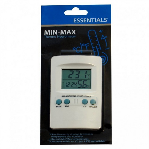 Digital Min Max Thermo Hygrometer