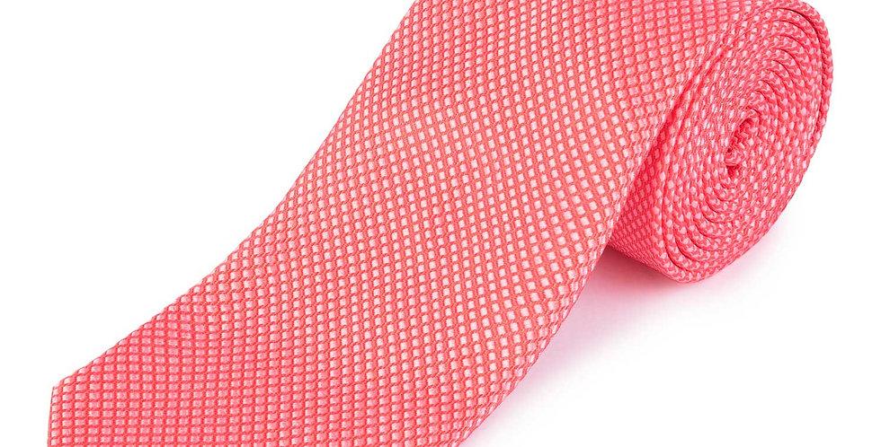 Corbata entramada en dos tonos