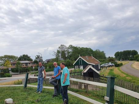 Molenaarsexamen op molen De Oude Knegt