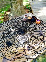 Spider Web Centerpiece