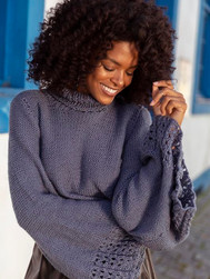 Megan Cropped Sweater