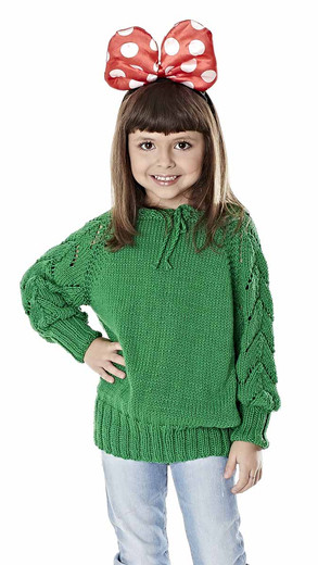 Knitted Kid Mollet Pullover