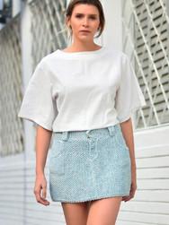 Jeans Mini-Skirt