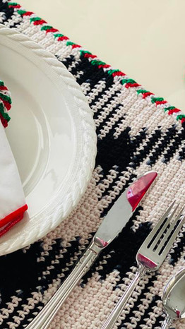 Swirl Placemats, Coasters & Napkin Rings
