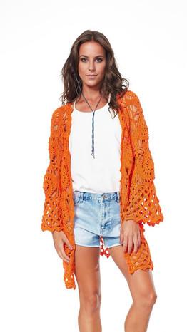Aperol Crochet Cover Up