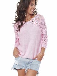 Charming Pink Blouse