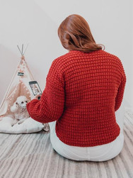 Red Apple Blouse