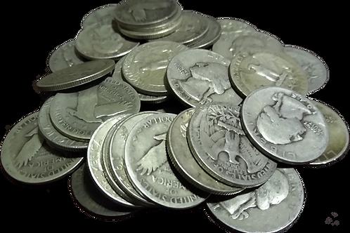 90% Constitutional Ag Silver - Quarters