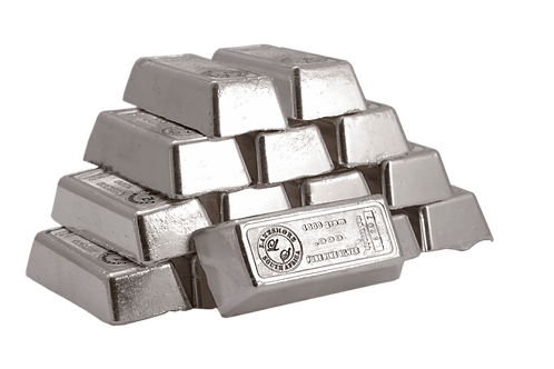 Ag Silver Notable Minted Bars Eagle - 1000ozt
