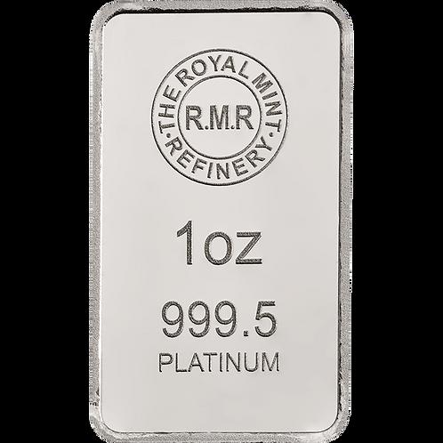 Pt Platinum Notable Minted Bars Eagle - 1ozt