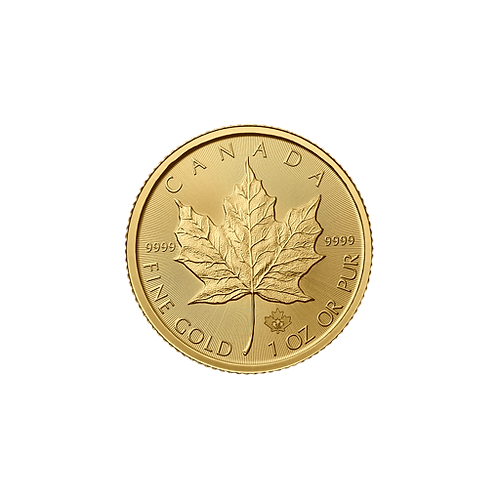 copy of Au Gold Maple Leafs - 1/2ozt