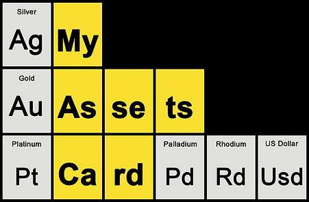 Periodic Table Black Vector - Metals ONL